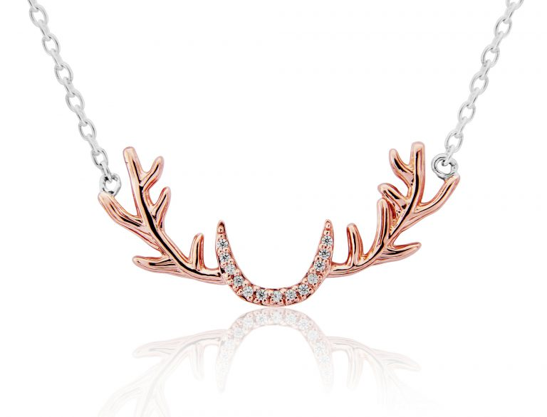 Stag Antler Necklace