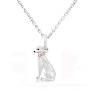 greyhound pendant