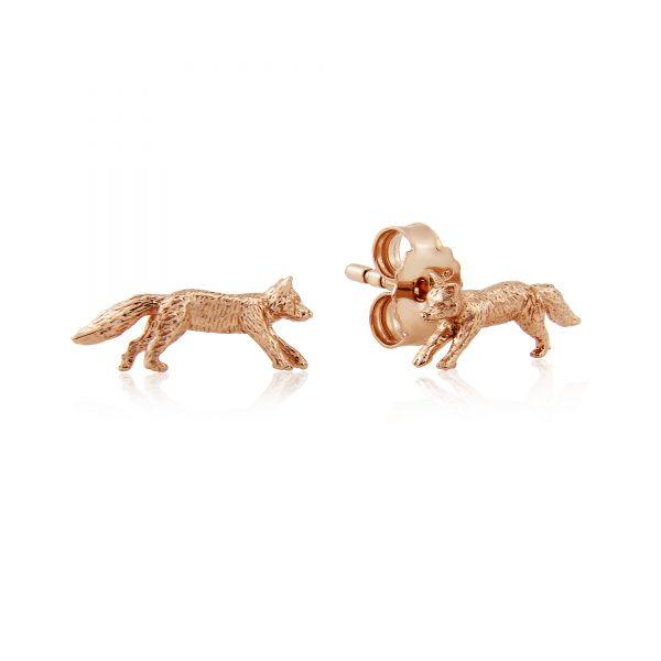 Mr Fox Earrings