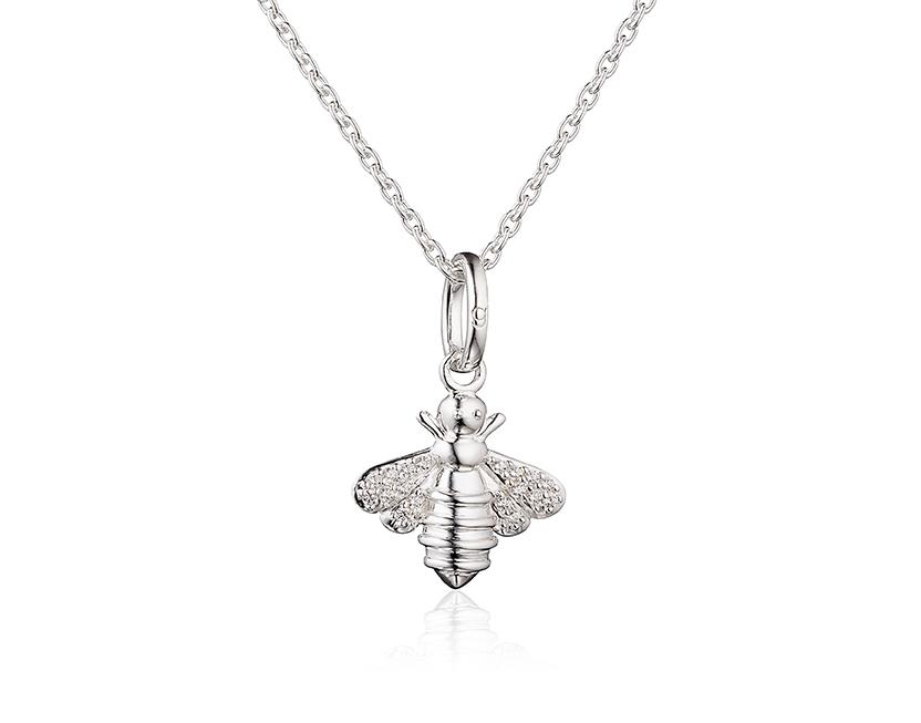 Sparkly Bee pendant