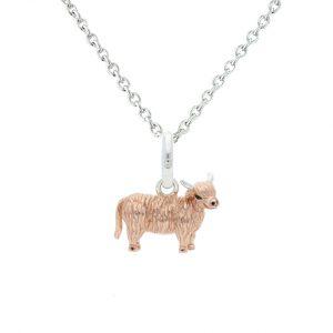 Highland Cow Pendant