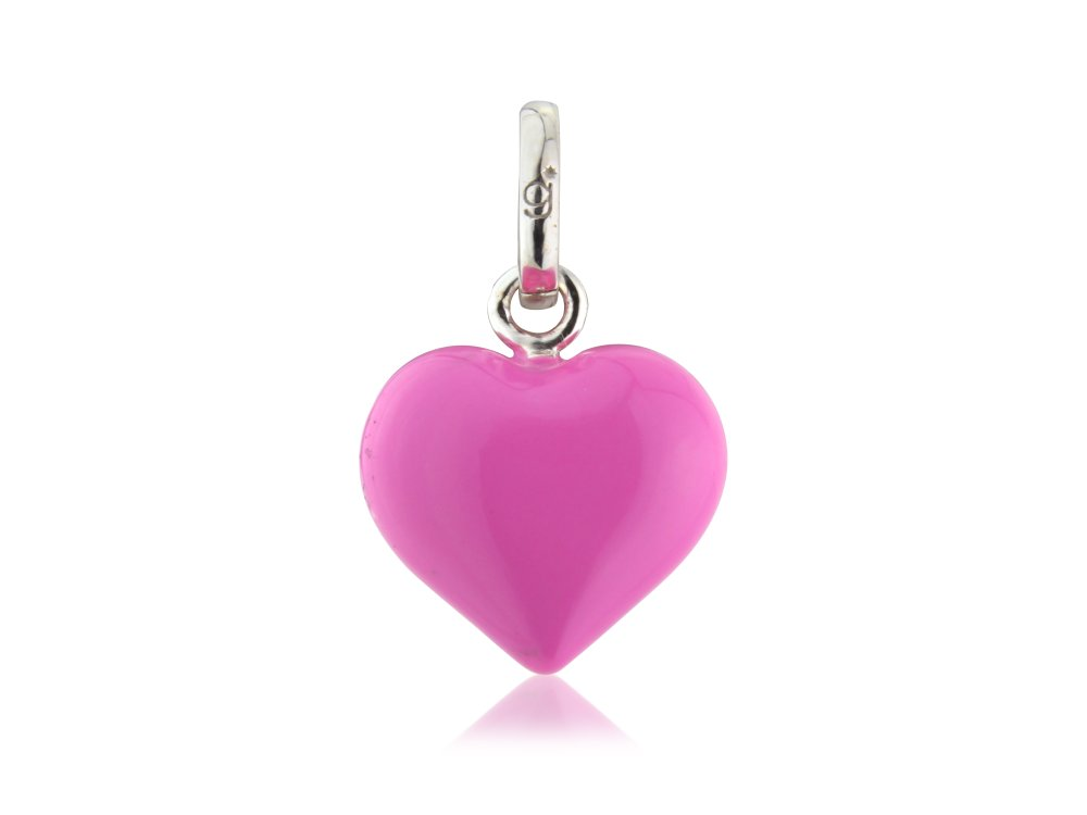 Pink Heart Charm