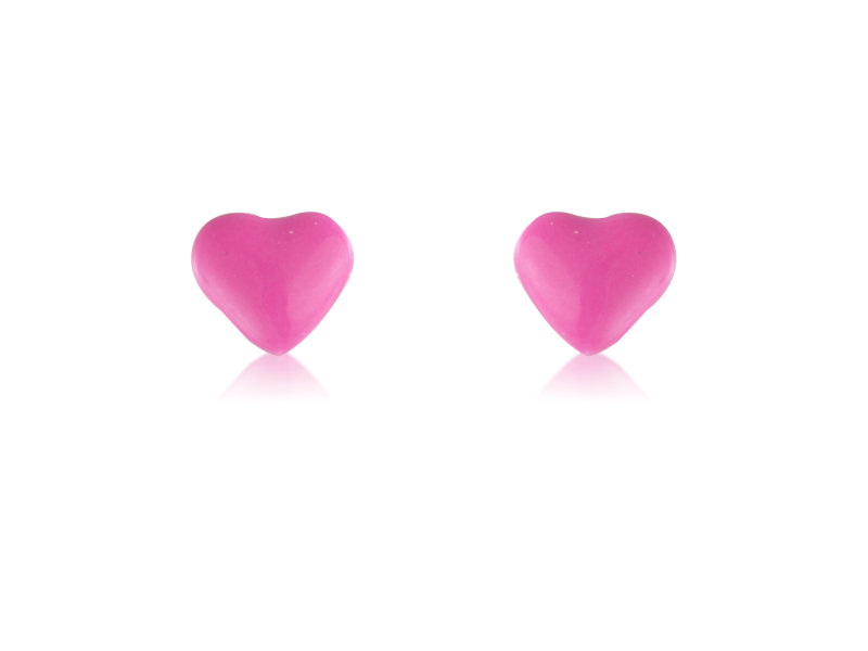 Pink Sweetheart Studs