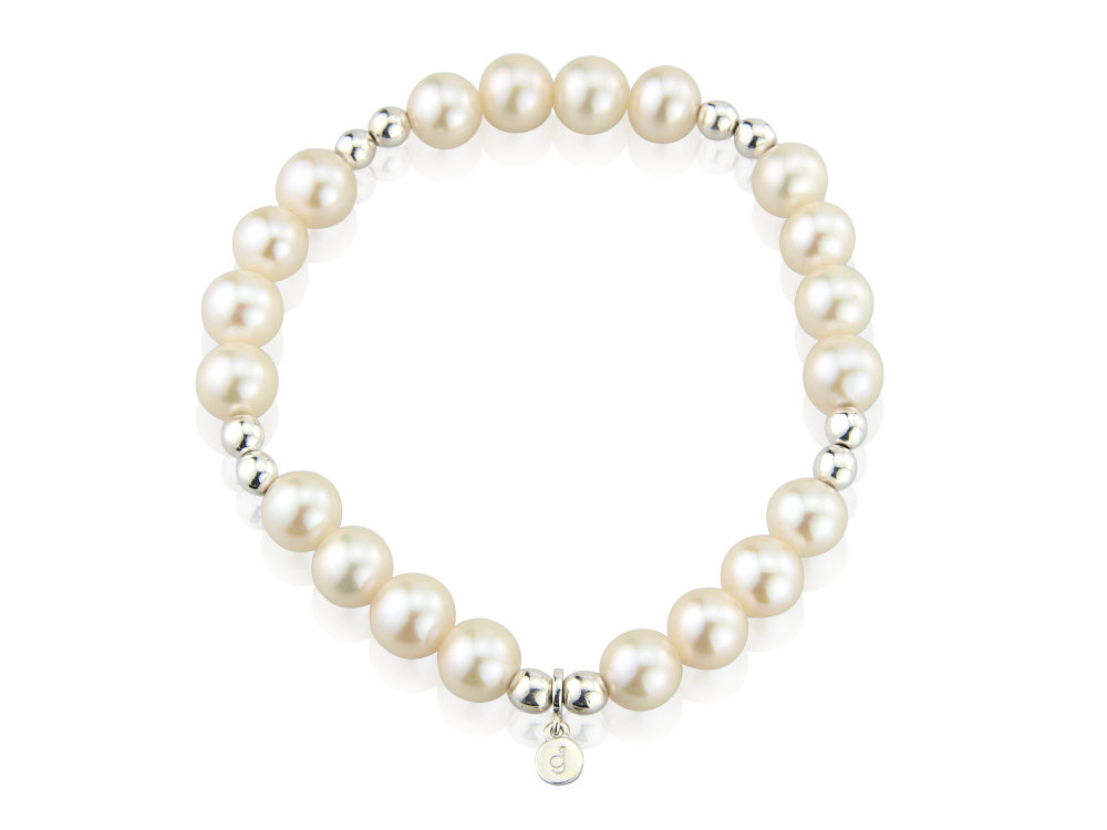 Pearl Slinky Bracelet