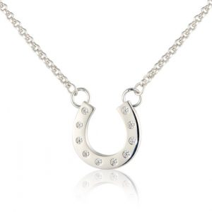 Sparkly Hoof Necklace