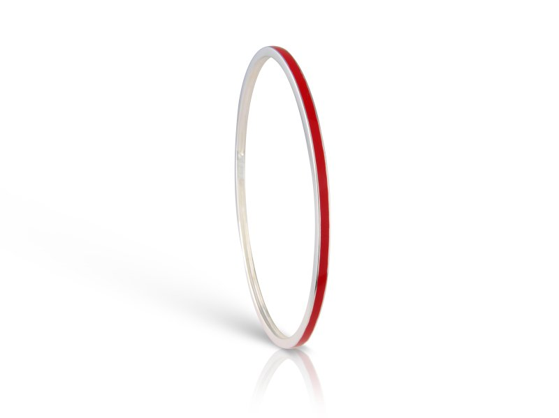 Loopy Frooty Strawberry Red Bangle