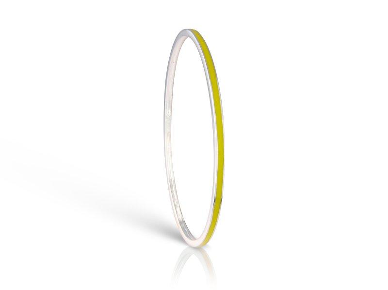 Loopy Frooty Lemon Yellow Bangle