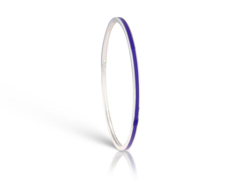 Loopy Frooty Plum Purple Bangle