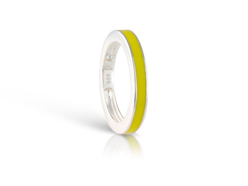 Lemon Yellow Ring