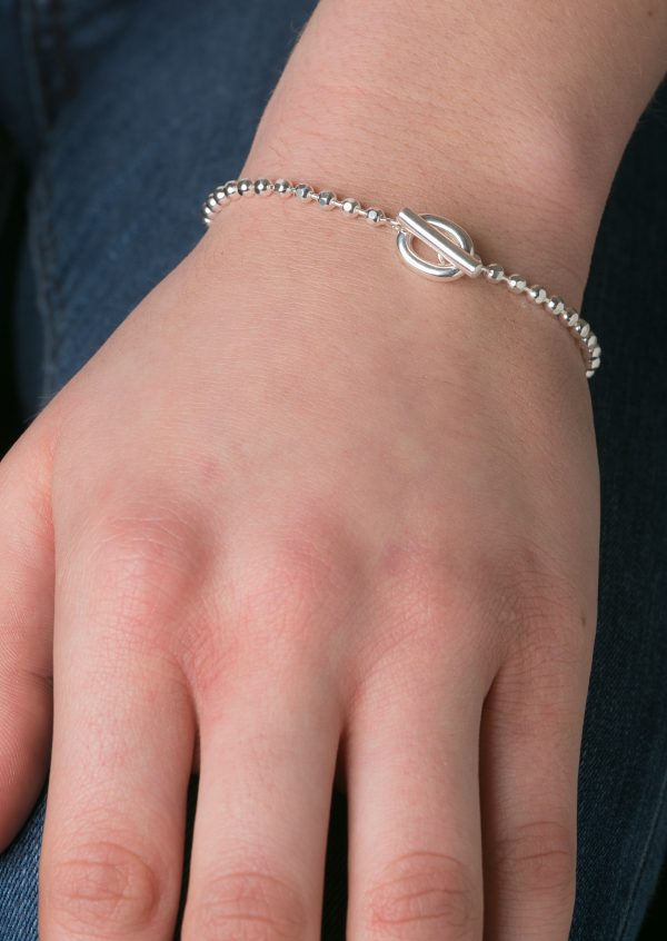 Beaded T-bar Bracelet