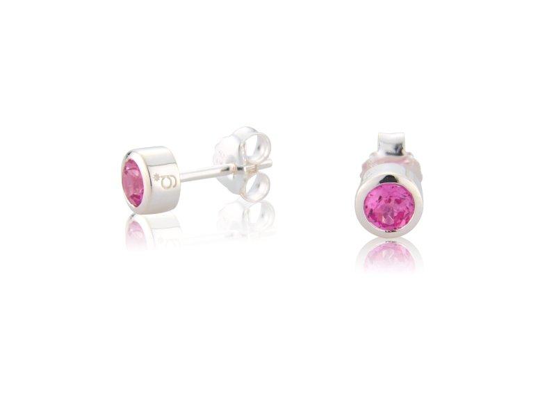 Tourmaline CZ Earrings (October)