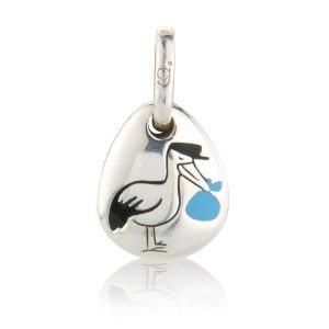 Blue Stork Pebble