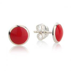 Loopy Frooty Strawberry Red Studs