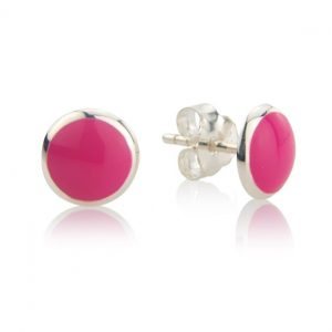 Loopy Frooty Berry Pink Studs