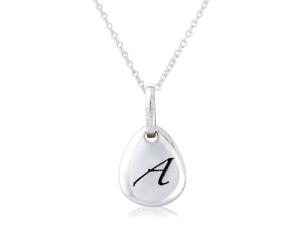 Initial A Pendant