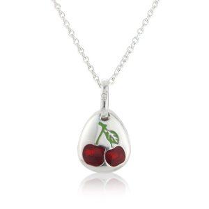 Cherry Pebble Pendant