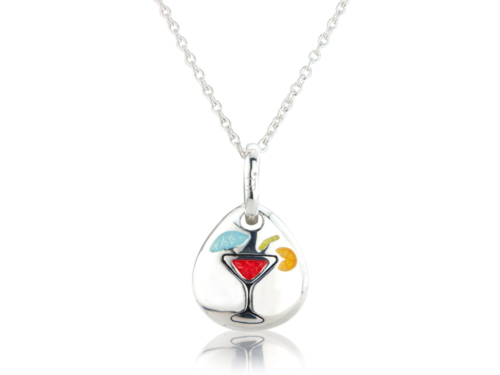 Happy Hour Pebble Pendant