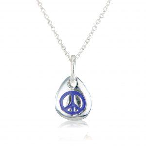 Peace Pebble Pendant