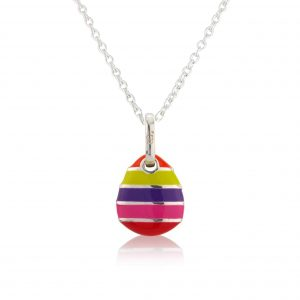 Loopy Frooty Pebble Pendant