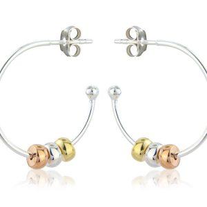 Harmony Beaded Hoop Earrings