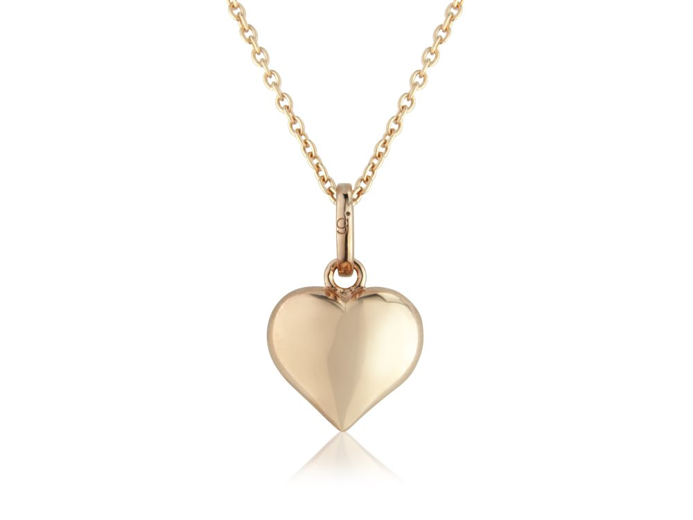 White Gold Heart Necklace Argos