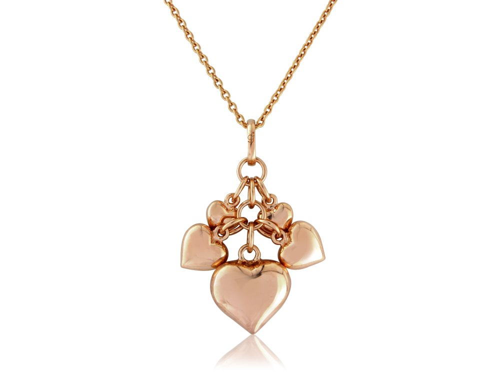 Rose Gold Valentine Pendant