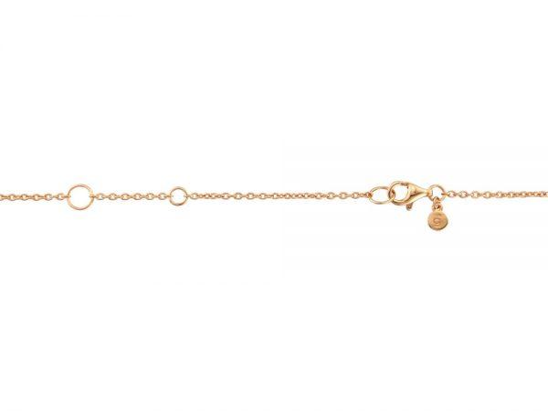 Rose Gold Acorn Pendant