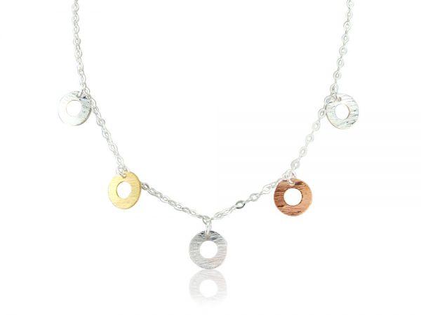 Harmony Discs Necklace