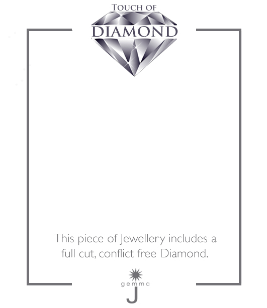 Diamond Key Charm
